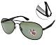 RAY BAN太陽眼鏡 偏光飛官太陽眼鏡/黑-綠偏光鏡片#RB3549 0069A-61mm product thumbnail 1
