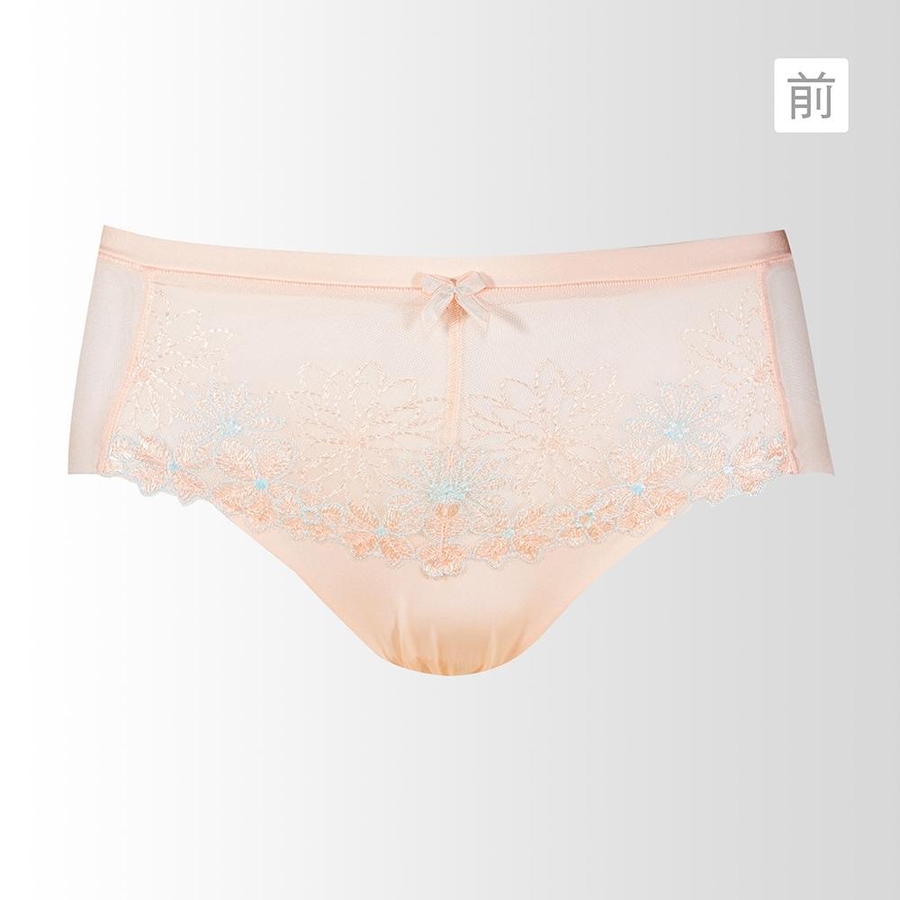 黛安芬-水感動魔術系列平口內褲M-EL 青春粉紅