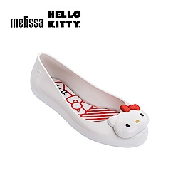 Melissa X HELLO KITTY 兒童娃娃鞋-白色