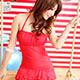 泳衣 可人甜美 素色一件式連身泳裝(紅M.L) AngelHoney天使霓裳 product thumbnail 1