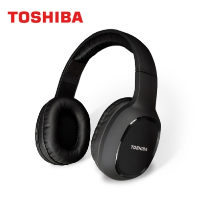 TOSHIBA 頭戴式藍牙耳機 RZE-BT160H(K)