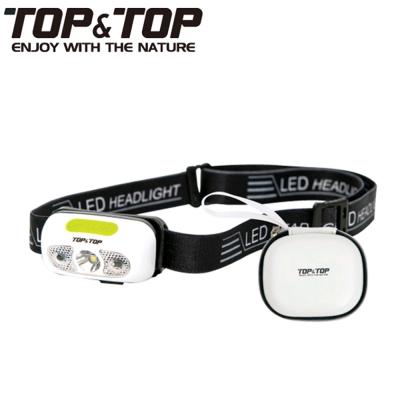 【韓國TOP&TOP 運動傳感USB充電LED頭燈 露營 登山