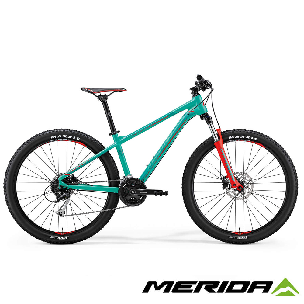《MERIDA》 美利達 中大輪徑越野登山車 Big.Seven 100 綠2018