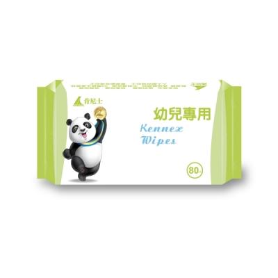 Kennex肯尼士純水柔濕巾-熊貓版80抽x36包/箱