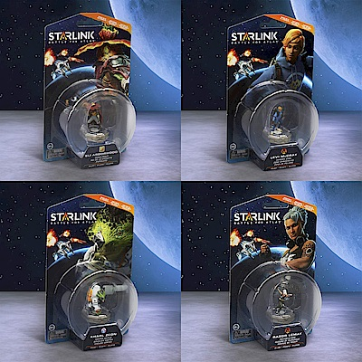 (預購) 銀河聯軍:阿特拉斯之戰 飛行員組合包