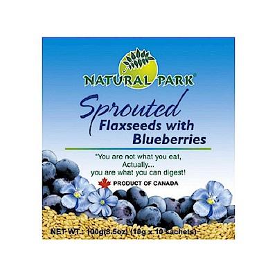 NATURAL PARK 加拿大亞麻籽粉-藍莓口味(10gx10包)