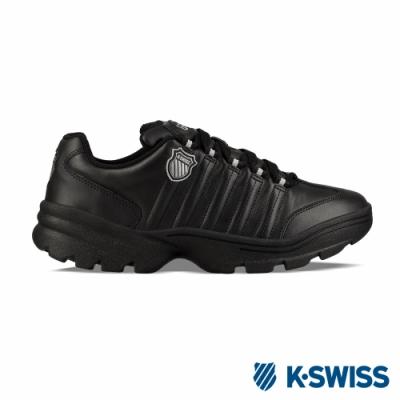 K-SWISS Altezo復古老爹鞋-男-黑/銀