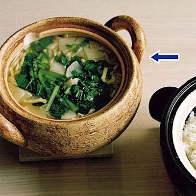 長谷園伊賀燒-日式風味燉煮鍋2-3人份