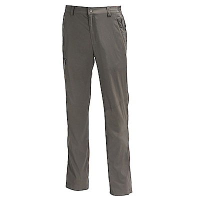 荒野【wildland】男彈性輕薄抗UV長褲卡其色