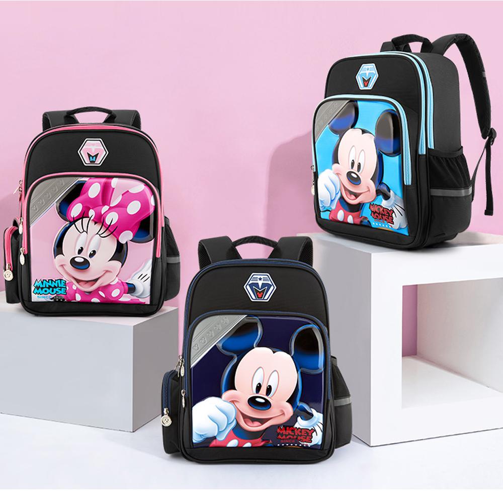 Disney 迪士尼米奇米妮3D立體護脊書包 共3色