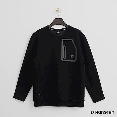 Hang Ten - 男裝 - ThermoContro-口袋設計機能型上衣 - 黑