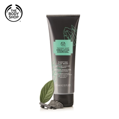 The Body Shop喜瑪拉雅竹炭淨白潔膚乳(125ML)