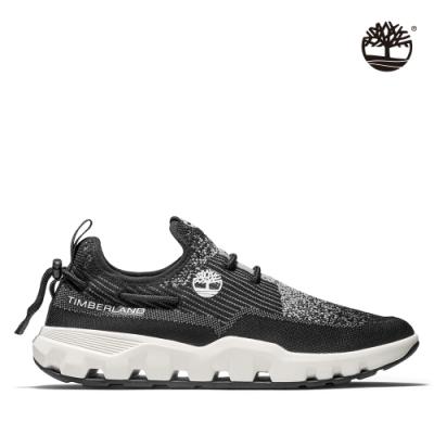 Timberland 男款黑色織面休閒鞋|A2BY5