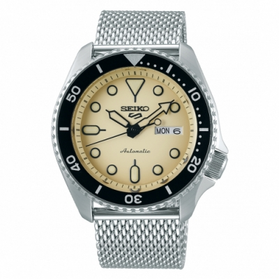 SEIKO 5 sport運動潮流機械腕錶/米蘭帶4R36-07G0Y(SRPD67K1)