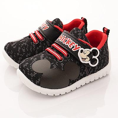 迪士尼童鞋 米奇休閒款 ON17025黑(中小童段)