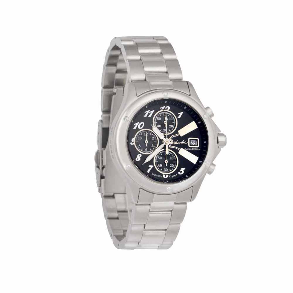李小龍 BruseLee 全球限量紀念錶雙截棍腕錶 黑色面