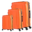 日本 LEGEND WALKER 5201 PP 三合一超輕量行李箱 閃酷橘