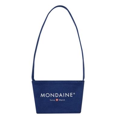 MONDAINE 瑞士國鐵 環保飲料杯套-丹寧藍