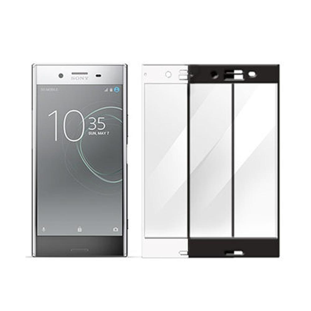 【MK馬克】Sony XZ Premium XZP 全滿版9H鋼化玻璃貼-黑色