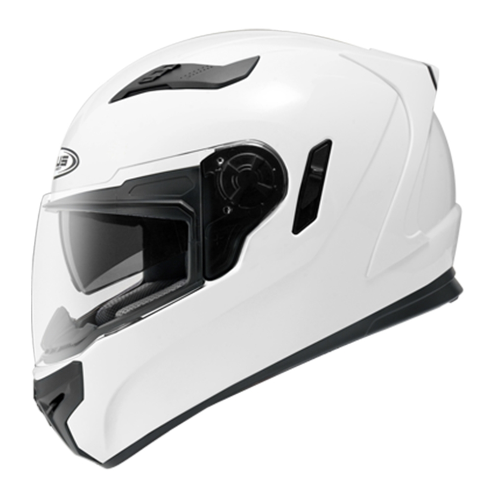 【ZEUS】813 素色 全罩(安全帽│機車│內襯│全罩式安全帽│抗UV│內藏墨鏡│可加購鏡片 GOGORO)