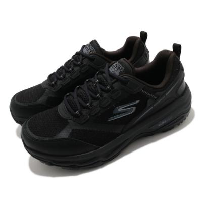 SKECHERS 慢跑鞋 Go Run Trail Altitude 女鞋 寬楦 透氣 緩震 健行 郊遊 黑 128200WBBK