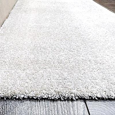 范登伯格 - 露娜 進口仿羊毛踏墊 - 米白色 (60 x 115cm)