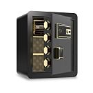 HANLIN 防盜警報語音提示 指紋觸控密碼保險箱