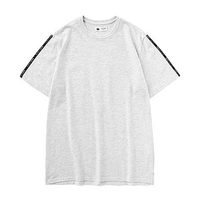 CACO-織帶款長版T(兩色)-男-【QNC002】