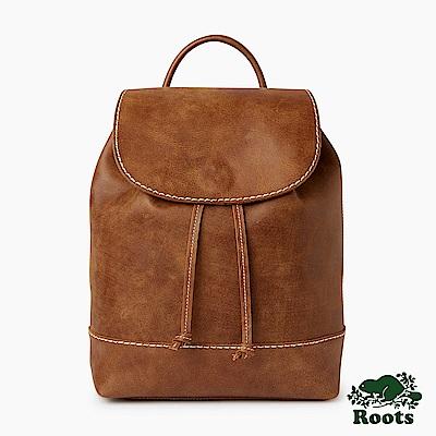 Roots配件-道森抽繩後背包-棕色