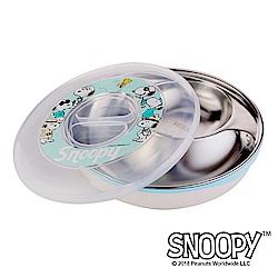 史努比SNOOPY 清漾童樂#304不鏽鋼隔熱餐盤800ml