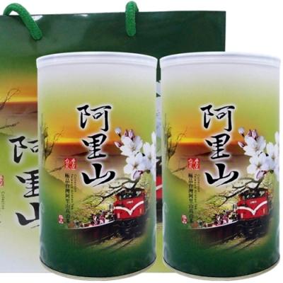 【新造茗茶】阿里山頂級金萱(300g*2罐)