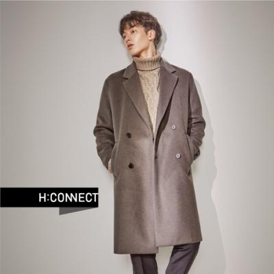 H:CONNECT 韓國品牌 男裝 - 麻花針織上衣  - 卡其