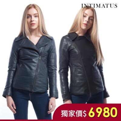 [時時樂] INTIMATUS 特殊光澤頂級奢華感小羊皮皮衣