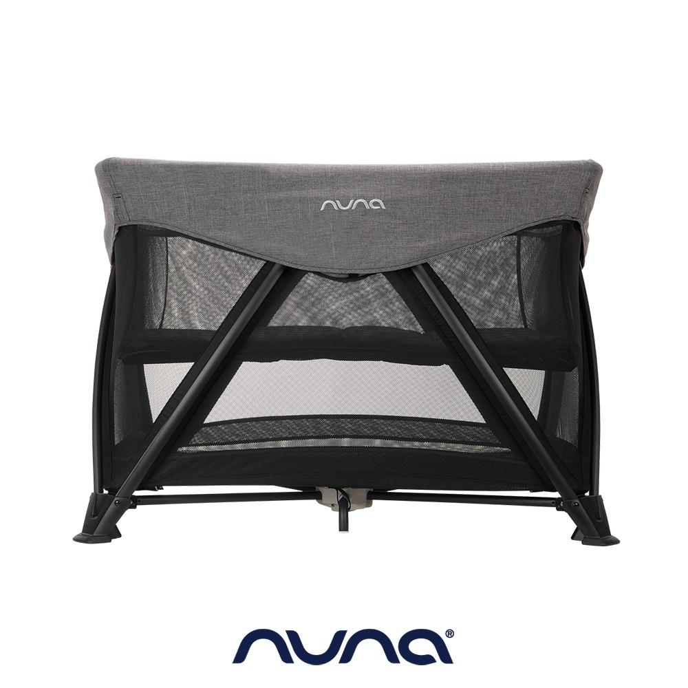 荷蘭nuna-SENA aire多功能嬰兒床(炭灰)