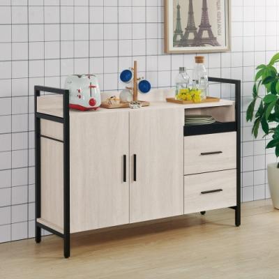 MUNA 伊凡卡4尺鐵架式餐櫃/收納櫃 120X40X90cm