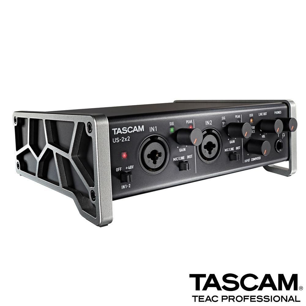 【日本TASCAM】USB錄音介面 US-2x2
