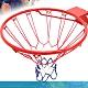 標準18吋金屬籃球框(含籃網)(標準籃框架/耐用籃筐架子籃球網Basketball hoop金屬籃架不含籃球板) product thumbnail 1