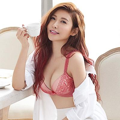 瑪登瑪朵 輕盈軟棉圈內衣  A-E罩杯(雅緻紅)