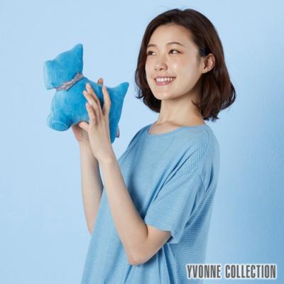 Yvonne Collection 梗犬造型玩偶-水藍