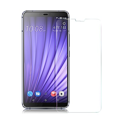 Xmart for HTC U19e 薄型 9H 玻璃保護貼-非滿版