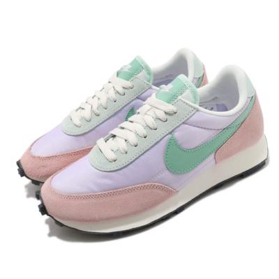 Nike 休閒鞋 Daybreak 運動 女鞋 海外限定 舒適 簡約 麂皮 穿搭 粉 紫 DJ0413531