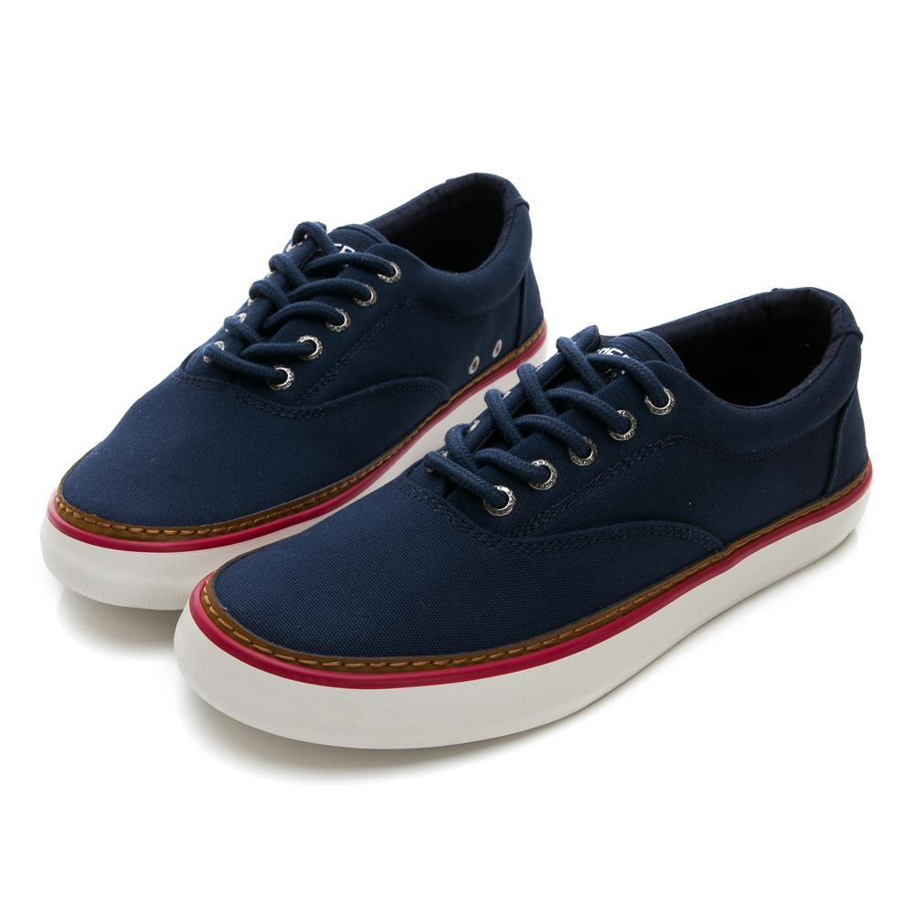 SPERRY 海軍復古舒適輕量帆布鞋(男)-藍