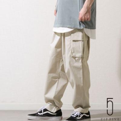 ZIP日本男裝 防水帆布工裝褲 (3色)