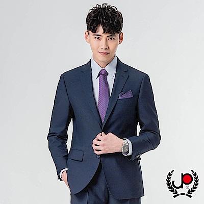 極品西服時尚簡約仿毛西裝外套_丈青(AS832-3G)