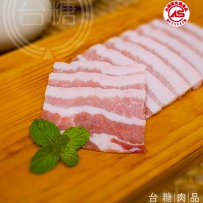 台糖 3kg五花肉片量販包(肉質軟嫩;CAS認證豬肉)