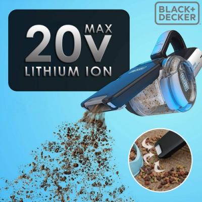 美國百工 BLACK+DECKER 20V 強效鋰電無線吸塵器