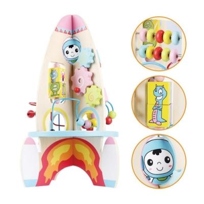 親親 木製益智火箭(MSN15057)