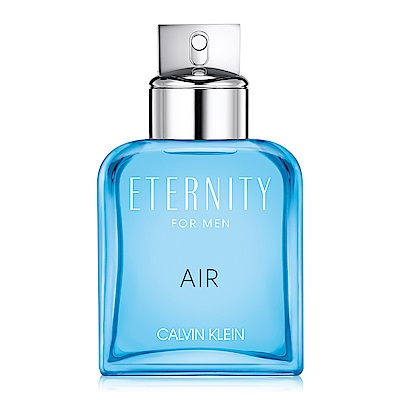 Calvin Klein CK Eternity Air 永恆純淨男性淡香水100ml-TESTER