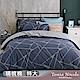 Tonia Nicole東妮寢飾 錫金流域100%精梳棉兩用被床包組(特大) product thumbnail 1