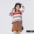 【KiKi】經典百搭條紋-上衣(二色)